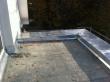 Balkon mit Schräge