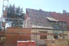 Erweiterung Dachstuhl