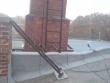 Flachdach in einem Industriegebiet