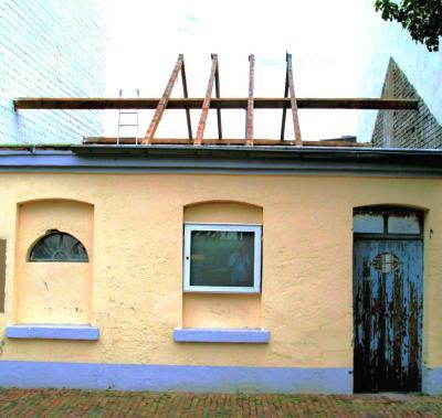 Haus ohne Dachstuhl